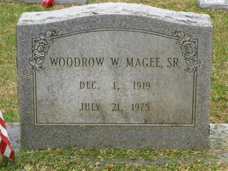 MAGEE, WOODROW WILSON SR - Washington County, Louisiana | WOODROW WILSON SR MAGEE - Louisiana Gravestone Photos