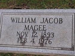 MAGEE, WILLIAM JACOB - Washington County, Louisiana | WILLIAM JACOB MAGEE - Louisiana Gravestone Photos