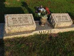 MAGEE, WILLIAM ARCHIE - Washington County, Louisiana | WILLIAM ARCHIE MAGEE - Louisiana Gravestone Photos