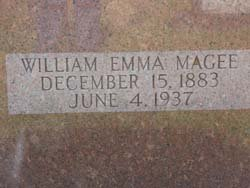 MAGEE, WILLIAM EMMA - Washington County, Louisiana | WILLIAM EMMA MAGEE - Louisiana Gravestone Photos