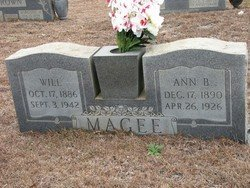 "MAGEE, WILLIAM ZACHARIAH ""WILL"" - Washington County, Louisiana | WILLIAM ZACHARIAH ""WILL"" MAGEE - Louisiana Gravestone Photos"