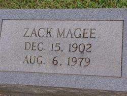MAGEE, ZACK (CLOSEUP) - Washington County, Louisiana | ZACK (CLOSEUP) MAGEE - Louisiana Gravestone Photos