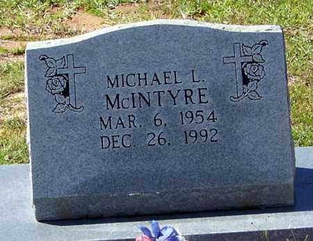 MCINTYRE, MICHAEL L - Washington County, Louisiana | MICHAEL L MCINTYRE - Louisiana Gravestone Photos