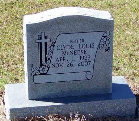 MCNEESE, CLYDE LOUIS - Washington County, Louisiana   CLYDE LOUIS MCNEESE - Louisiana Gravestone Photos