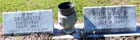 MILTON, VIOLA G - Washington County, Louisiana   VIOLA G MILTON - Louisiana Gravestone Photos