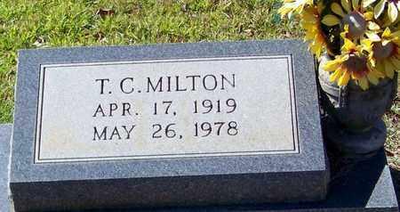 MILTON, T C - Washington County, Louisiana   T C MILTON - Louisiana Gravestone Photos