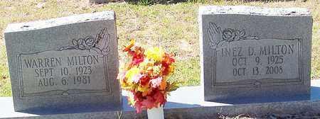 MILTON, INEZ - Washington County, Louisiana | INEZ MILTON - Louisiana Gravestone Photos