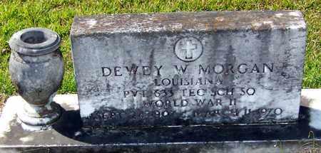 MORGAN, DEWEY W (VETERAN WWII) - Washington County, Louisiana | DEWEY W (VETERAN WWII) MORGAN - Louisiana Gravestone Photos