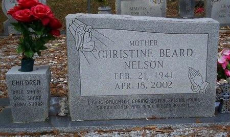 BEARD NELSON, CHRISTINE - Washington County, Louisiana | CHRISTINE BEARD NELSON - Louisiana Gravestone Photos