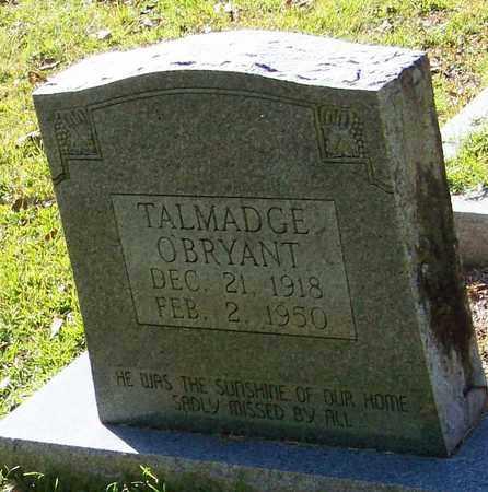O'BRYANT, TALMADGE - Washington County, Louisiana   TALMADGE O'BRYANT - Louisiana Gravestone Photos