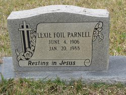 PARNELL, LEXIE - Washington County, Louisiana | LEXIE PARNELL - Louisiana Gravestone Photos
