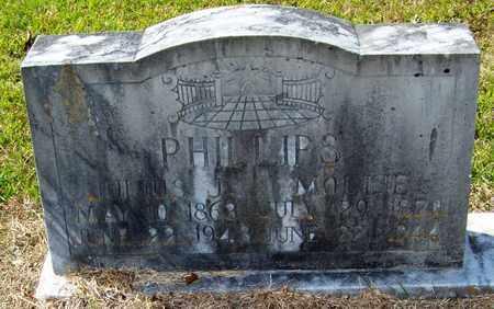 PHILLIPS, MOLLIE - Washington County, Louisiana | MOLLIE PHILLIPS - Louisiana Gravestone Photos