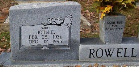 ROWELL, JOHN E - Washington County, Louisiana | JOHN E ROWELL - Louisiana Gravestone Photos