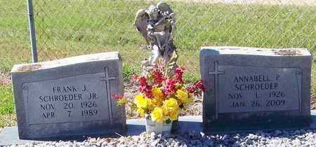 SCHROEDER, ANNABELL P - Washington County, Louisiana | ANNABELL P SCHROEDER - Louisiana Gravestone Photos