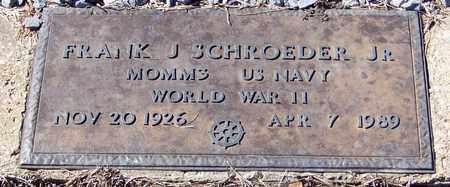 SCHROEDER, FRANK J, JR  (VETERAN WWII) - Washington County, Louisiana | FRANK J, JR  (VETERAN WWII) SCHROEDER - Louisiana Gravestone Photos