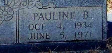SMITH  , PAULINE B  (CLOSEUP) - Washington County, Louisiana   PAULINE B  (CLOSEUP) SMITH   - Louisiana Gravestone Photos