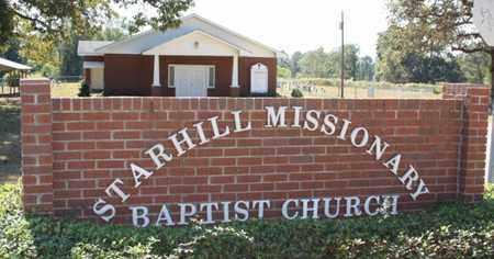 *STAR HILL BAPTIST CHURCH,   - Washington County, Louisiana |   *STAR HILL BAPTIST CHURCH - Louisiana Gravestone Photos
