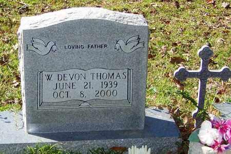 THOMAS, DEVON WILLIAM - Washington County, Louisiana   DEVON WILLIAM THOMAS - Louisiana Gravestone Photos