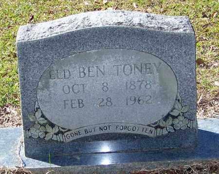 TONEY, BEN, REV - Washington County, Louisiana | BEN, REV TONEY - Louisiana Gravestone Photos