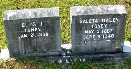 TONEY, ELLIS J - Washington County, Louisiana | ELLIS J TONEY - Louisiana Gravestone Photos