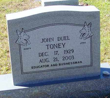 TONEY, JOJN DUEL - Washington County, Louisiana   JOJN DUEL TONEY - Louisiana Gravestone Photos