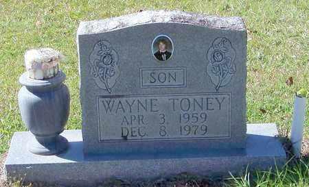 TONEY, WAYNE - Washington County, Louisiana   WAYNE TONEY - Louisiana Gravestone Photos