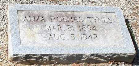 TYNES  , ALMA  (2ND MARKER) - Washington County, Louisiana | ALMA  (2ND MARKER) TYNES   - Louisiana Gravestone Photos