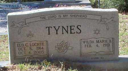 TYNES, C LOCHTE REV - Washington County, Louisiana | C LOCHTE REV TYNES - Louisiana Gravestone Photos