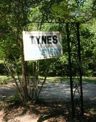 *TYNES CEMETERY SIGN,   - Washington County, Louisiana |   *TYNES CEMETERY SIGN - Louisiana Gravestone Photos