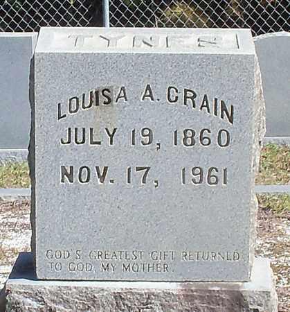 CRAIN TYNES, LOUISA A - Washington County, Louisiana | LOUISA A CRAIN TYNES - Louisiana Gravestone Photos