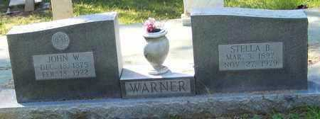 WARNER, STELLA  - Washington County, Louisiana | STELLA  WARNER - Louisiana Gravestone Photos