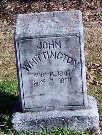 WHITTINGTON, JOHN - Washington County, Louisiana   JOHN WHITTINGTON - Louisiana Gravestone Photos