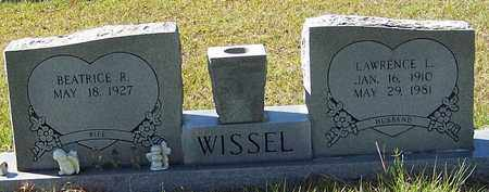 WISSEL, LAWRENCE L - Washington County, Louisiana | LAWRENCE L WISSEL - Louisiana Gravestone Photos