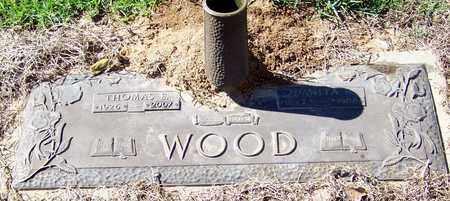 WOOD, THOMAS E - Washington County, Louisiana   THOMAS E WOOD - Louisiana Gravestone Photos