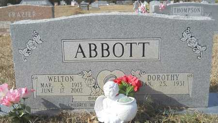 ABBOTT, WELTON - Webster County, Louisiana   WELTON ABBOTT - Louisiana Gravestone Photos