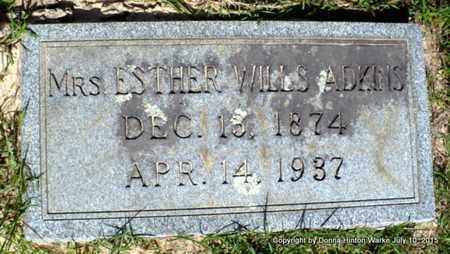 ADKINS, ESTHER - Webster County, Louisiana | ESTHER ADKINS - Louisiana Gravestone Photos