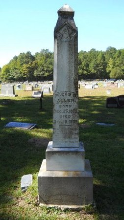 ALLEN, PLEASANT D - Webster County, Louisiana | PLEASANT D ALLEN - Louisiana Gravestone Photos