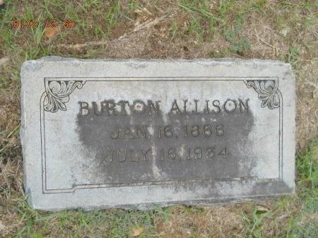 ALLISON, BURTON RALEIGH - Webster County, Louisiana | BURTON RALEIGH ALLISON - Louisiana Gravestone Photos