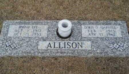 ALLISON, DORIS - Webster County, Louisiana | DORIS ALLISON - Louisiana Gravestone Photos