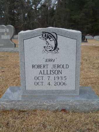 "ALLISON, OBERT JEROLD ""JERRY"" - Webster County, Louisiana   OBERT JEROLD ""JERRY"" ALLISON - Louisiana Gravestone Photos"