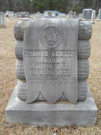 ALLISON, THOMAS LESTER - Webster County, Louisiana | THOMAS LESTER ALLISON - Louisiana Gravestone Photos