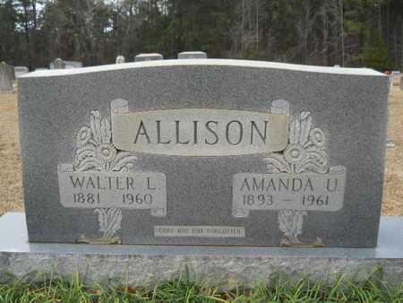 ALLISON, AMANDA U - Webster County, Louisiana | AMANDA U ALLISON - Louisiana Gravestone Photos