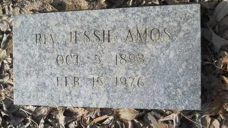 AMOS, JESSIE, REV - Webster County, Louisiana | JESSIE, REV AMOS - Louisiana Gravestone Photos