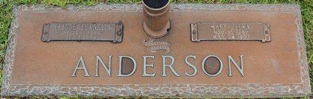 ANDERSON, MARY ZELMA - Webster County, Louisiana | MARY ZELMA ANDERSON - Louisiana Gravestone Photos
