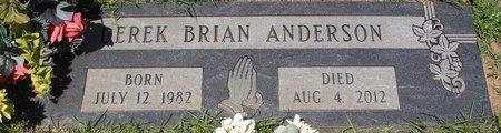 ANDERSON, DEREK BRIAN - Webster County, Louisiana | DEREK BRIAN ANDERSON - Louisiana Gravestone Photos
