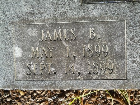ANDERSON, JAMES B (CLOSE UP) - Webster County, Louisiana | JAMES B (CLOSE UP) ANDERSON - Louisiana Gravestone Photos