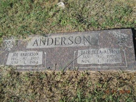 ANDERSON, FAIR ELLA - Webster County, Louisiana | FAIR ELLA ANDERSON - Louisiana Gravestone Photos