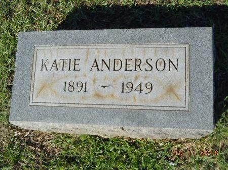 ANDERSON, KATIE - Webster County, Louisiana   KATIE ANDERSON - Louisiana Gravestone Photos