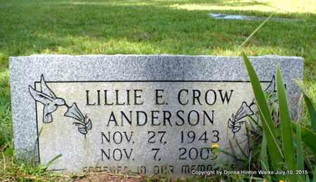 ANDERSON, LILLIE E - Webster County, Louisiana | LILLIE E ANDERSON - Louisiana Gravestone Photos