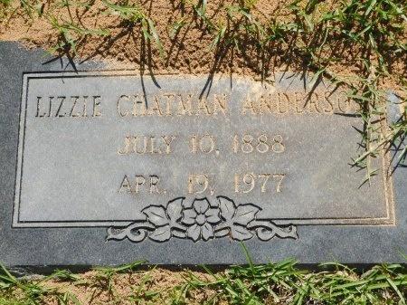 ANDERSON, LIZZIE - Webster County, Louisiana   LIZZIE ANDERSON - Louisiana Gravestone Photos